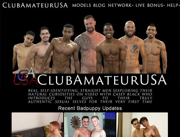 Club Amateur USA Threesome