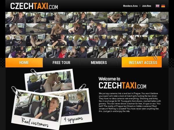 Czechtaxi.com Network Password