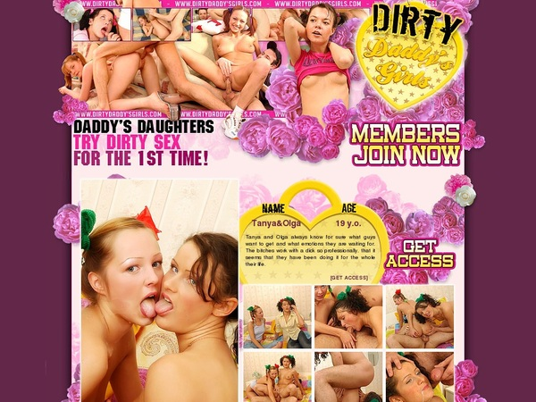 Dirtydaddysgirls.com With EUDebit