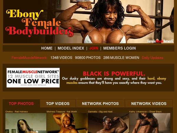 Ebonyfemalebodybuilders.compassword Free