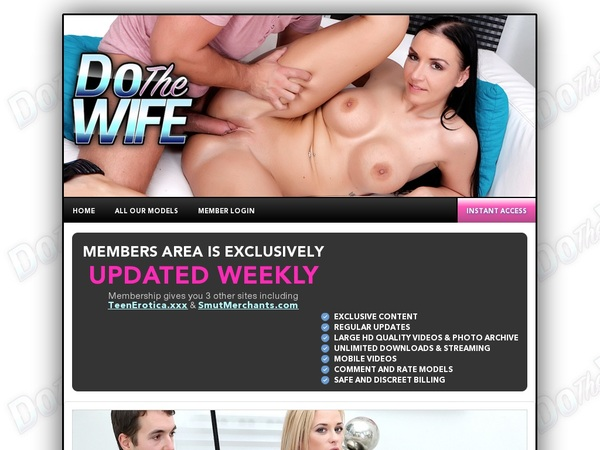 Free Account In Do The Wife Mobile