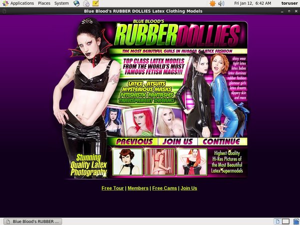 Free Rubberdollies.com Accounts And Passwords