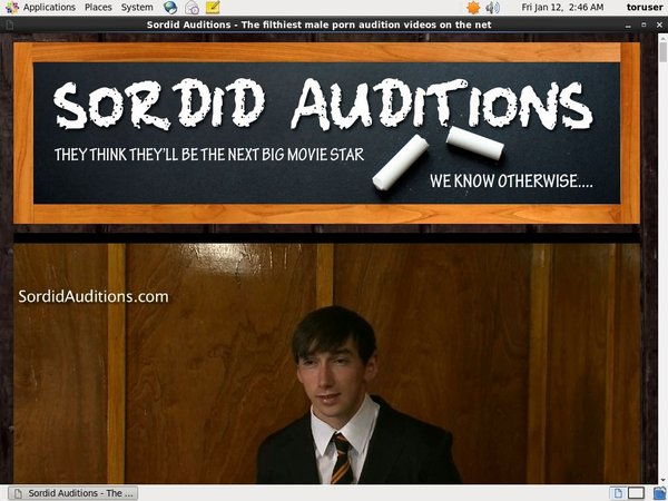 Free Sordid Auditions V2 Password