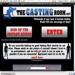 Log In The Casting Room