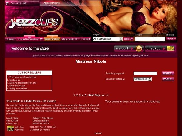 Mistress Nikole Films