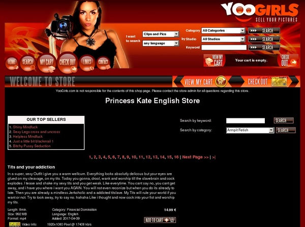 Princess Kate English Video