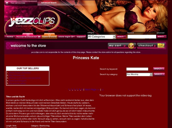 Princess Kate Member Access