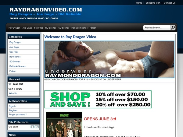 Raydragonvideo.com Live Cams