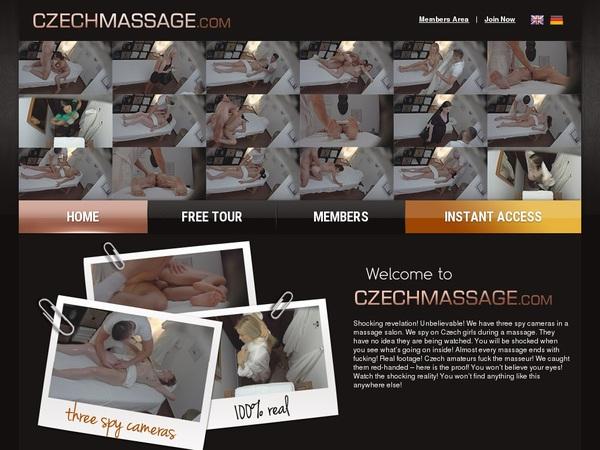 Real Czechmassage.com Accounts