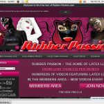 Rubber Passion Signup