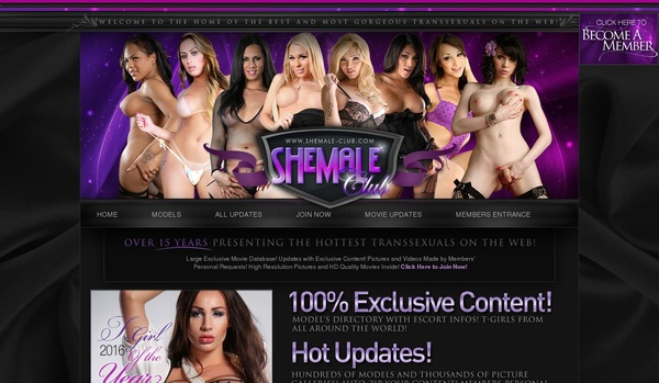 Shemale Club Free Access
