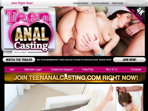 Teen Anal Casting With Bank Account