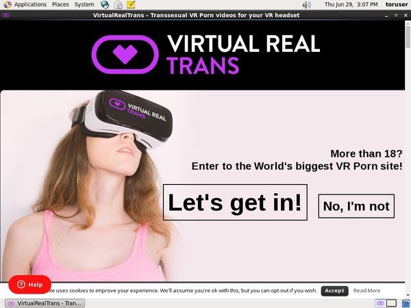 Virtual Real Trans Accounts And Password