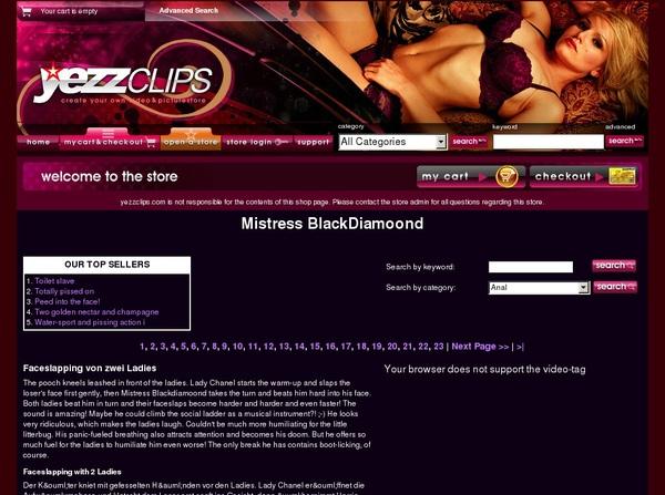 Yezzclips.com Account
