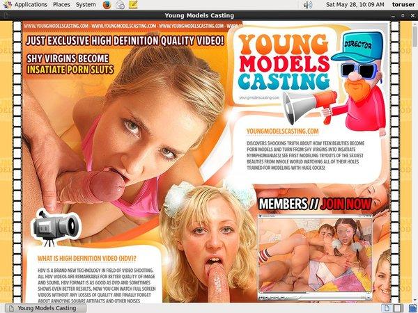 Youngmodelscasting.com Mobile Passwords