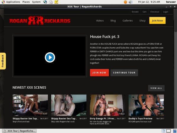 Rogan Richards Login Info