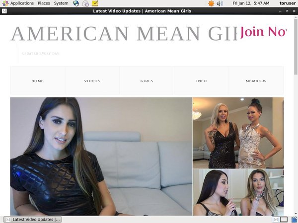 Americanmeangirls.com Betalen