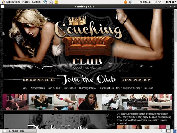 Couching Club With IBAN / BIC
