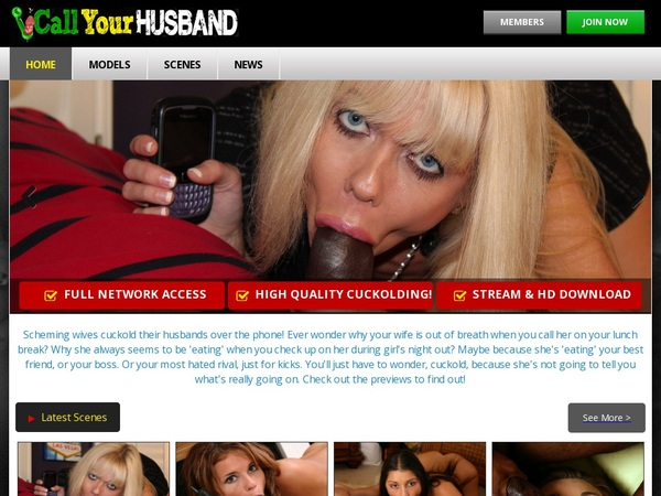 Join Callyourhusband.com For Free