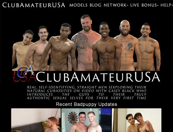 Club Amateur USA Valid Password