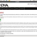 Glam DNA 로그인