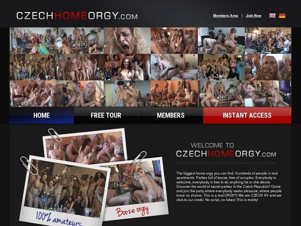 Id Czech Home Orgy