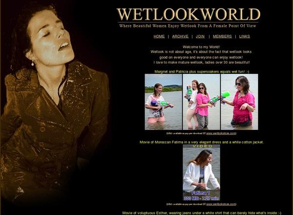 Wet Look World GXBill