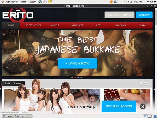Erito Accounts And Passwords