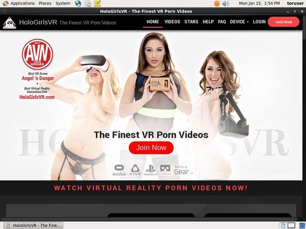 Holo Girls VR New Accounts