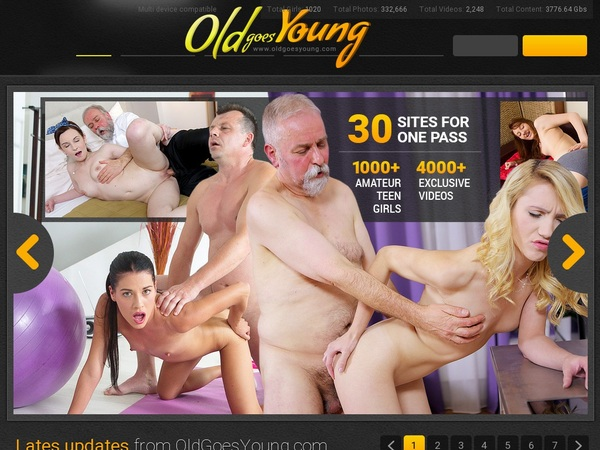 How To Get Free Oldgoesyoung.com Accounts