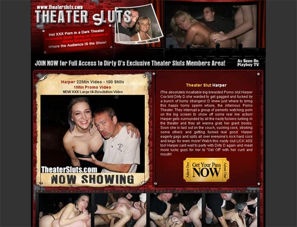 Register For Theater Sluts
