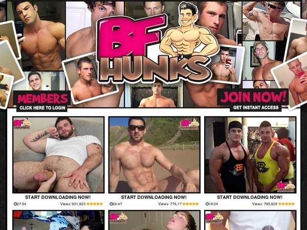 BF Hunks With Gift Card