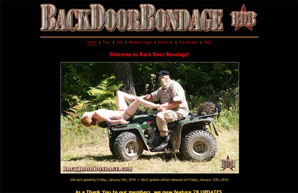 Backdoor Bondage Free Pass