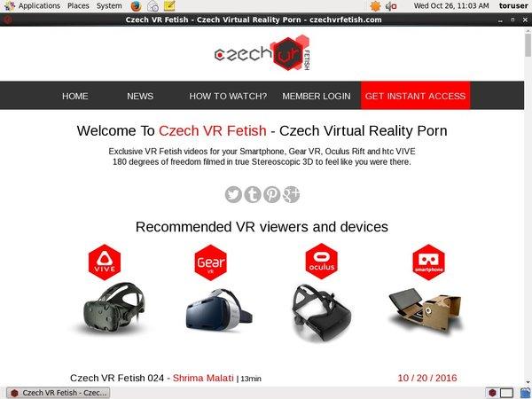 Czech VR Fetish Discreet