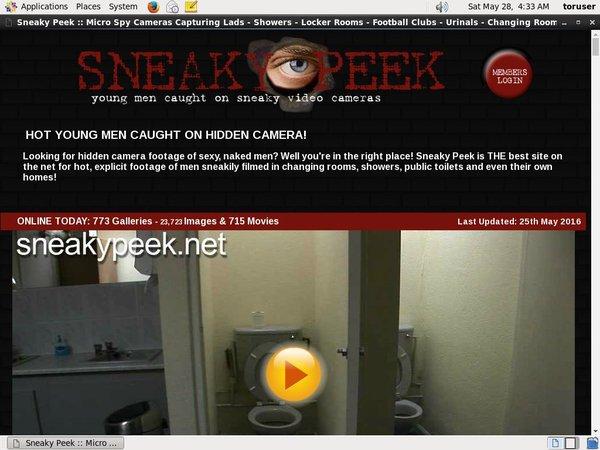 Sneakypeek.net Account Free