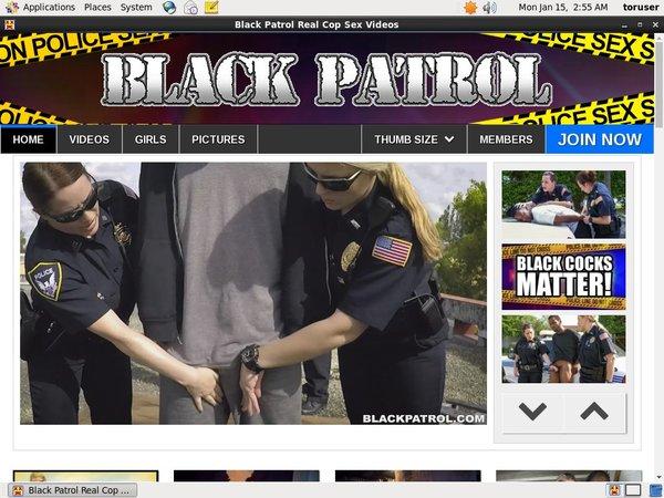 Black Patrol Men