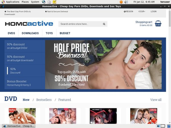 Homoactive With SEPA