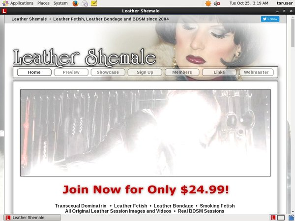 Leathershemale Paypal Account