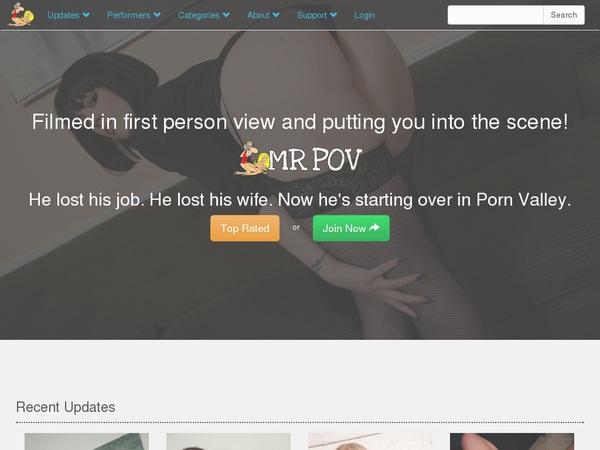 Mrpov.com Member Sign Up